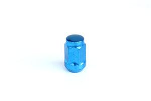 Nakrętki do felg M12X1,50x35mm niebieskie stożek